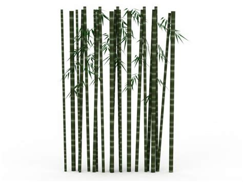 bamboo plants 3d 3ds max files free
