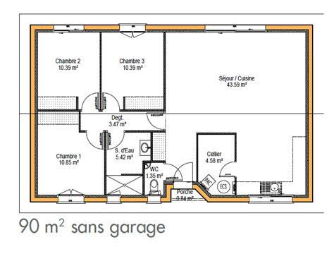 plan maison 騁age 4 chambres plan de maison simple gratuit maison moderne