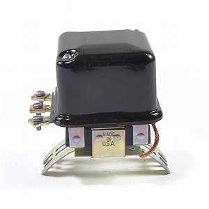 6-volt Delco Voltage Regulator  Generator Mounted
