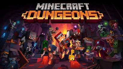 Dungeons Minecraft Wallpapers Cave Covid