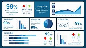 10 best dashboard templates for powerpoint presentations for Project review template ppt