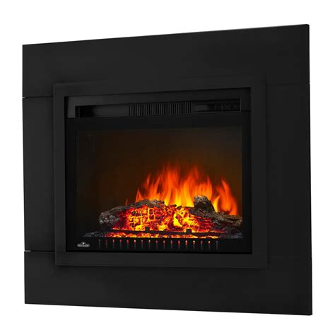 electric log fireplace insert  trim kit
