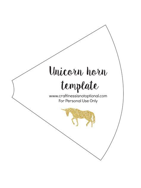 Unicorn Horn Template Unicorn Horn Template Cumplea 241 Os Unicornio