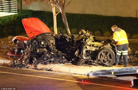 DebaOnline4U: Paul Walker Dead in Fiery Car Crash Photos