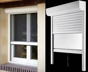 Fenetre Aluminium Avec Volet Roulant Intégré : fenetre pvc avec volet roulant et moustiquaire maison ~ Dailycaller-alerts.com Idées de Décoration