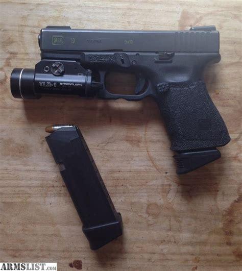 glock 19 strobe light armslist for trade custom glock 19 with tactical light