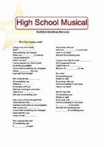 English teaching worksheets: High School Musical