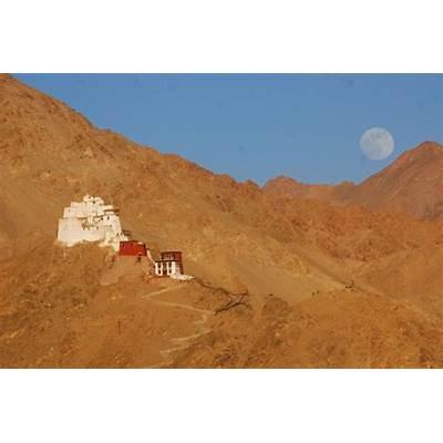 Namgyal Tsemo Gompa and Fort LehJammu Kashmir