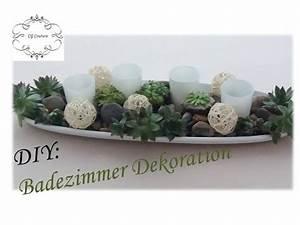 Dekoration Badezimmer Selber Machen : diy badezimmer dekoration selber machen mit sukkulenten fr hlingsdekoration youtube ~ Markanthonyermac.com Haus und Dekorationen