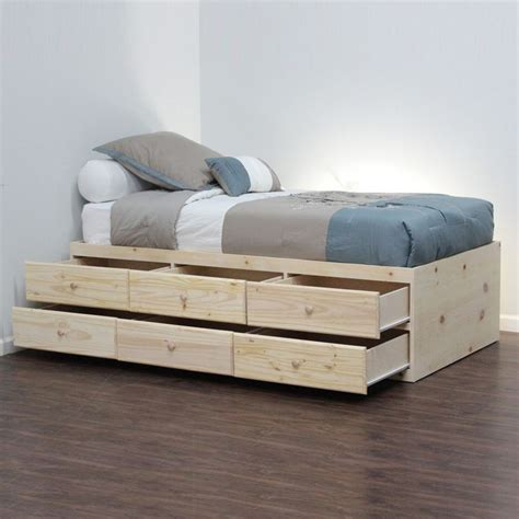 Storage Bed No Headboard by 1000 Ideas About Bed Without Headboard On No