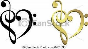 Notenschlüssel Mit Herz : das herz besteht aus zitterndem riff das herz besteht aus ~ Watch28wear.com Haus und Dekorationen