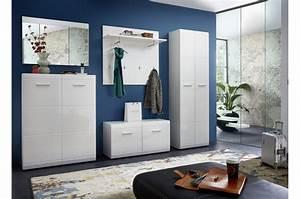 meuble d39entree laque blanc douchka cbc meubles With meuble d entree blanc