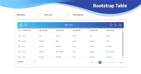 bootstrap  table scroll examples tutorial basic