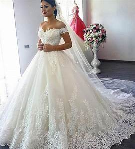 luxury lace ball gown long sleeve wedding dresses 2017 With long sleeve wedding dresses 2017