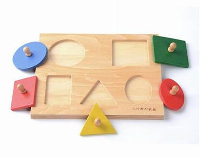 Toys Shapes Wooden Puzzle Montessori Toy Childhood