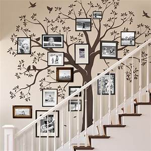 staircase family tree wall decal tree wall decal With family tree decals for walls ideas