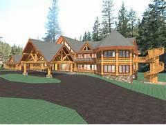 Luxury Log Home Designs by Hawkeye 15281 Sq Ft Luxury Log Home Plans Log Cabin Kit Mountain Ridge