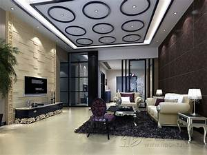 10 unique false ceiling modern designs interior living room for Interior ceiling design for living room