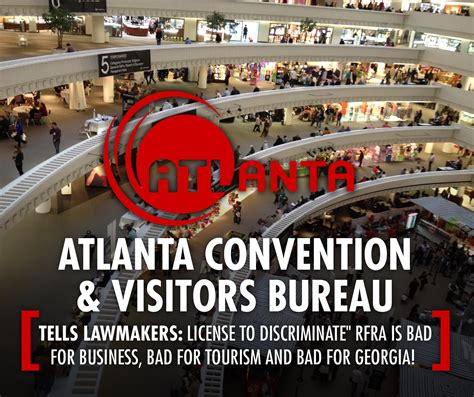 convention and tourism bureau atlanta convention visitors bureau rfra is bad for
