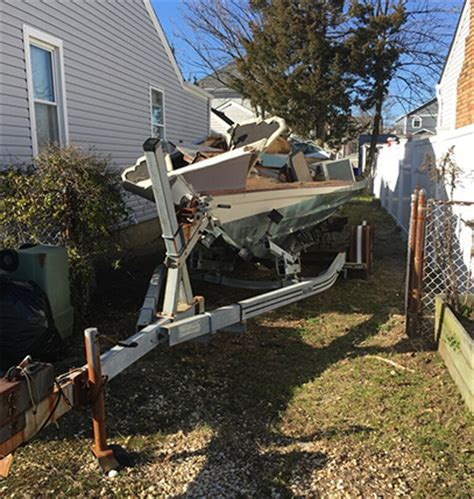 Boat Rentals Near Forked River Nj by Junk Boat Removal Boat Disposal County Dumpsters