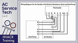 Split System Thermostat Wiring Diagram