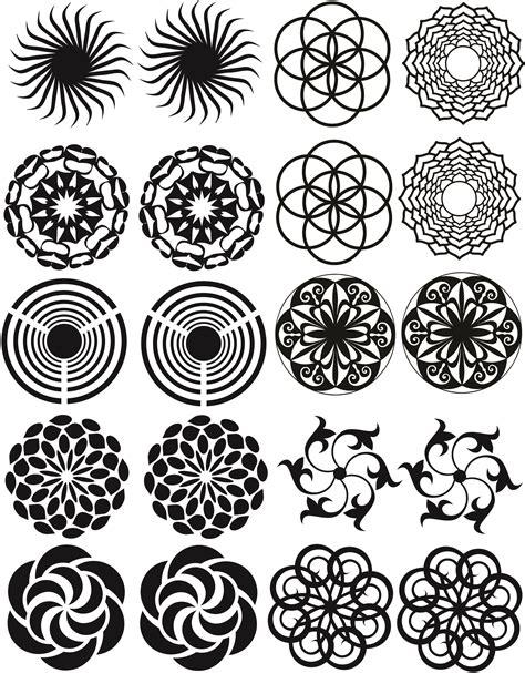 Muster Schablonen by Radial Pattern Blasting Stencils As Radial Patterns 01