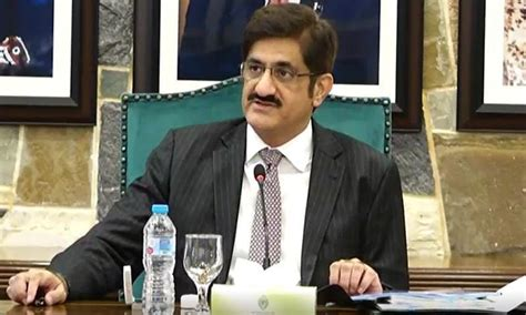 sindh chief minister raises burning issues  letter  pm