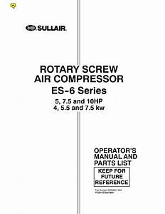 Sullair 185 Wiring Diagram