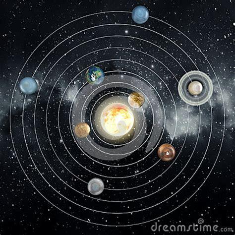 Solar System Stock Illustration Image