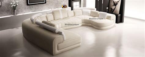 canapé d angle cuir gris anthracite canapé d 39 angle panoramique design en cuir italien