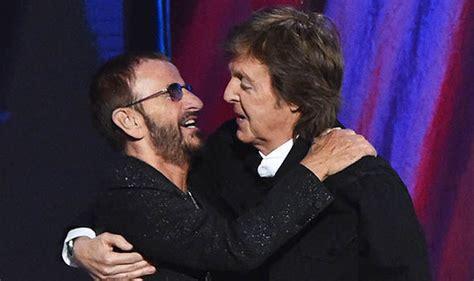 Beatles Film Premiere Ringo Starr And Paul Mccartney Come
