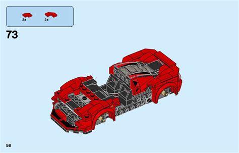 Instructions for lego 76895 ferrari f8 tributo. LEGO 76895 Ferrari F8 Tributo Instructions, Speed Champions
