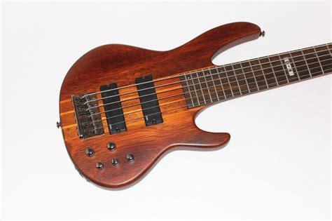 Esp Ltd D6 6string Neckthrubody Electric Bass Guitar