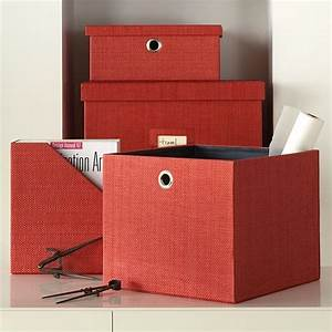 Home office storage modern storage bins and boxes by for Home office storage boxes