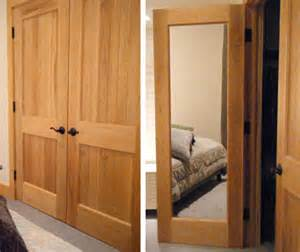 Solid Wood Closet Doors by Mirror Doors Solid Wood Interior Doors With Mirrors