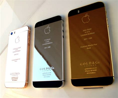 iphone 5s gold iphone 5s plated in gold or platinum technabob