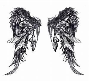 Tattoo File: Glamorous Angel Wings Tattoos Gallery