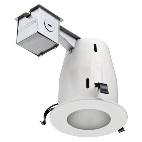 Shower Recessed Light - lithonia lighting 4 in matte white gu10 glass recessed