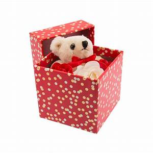 Teddy Bear Rose Gift Box only available from Stylish Gifts