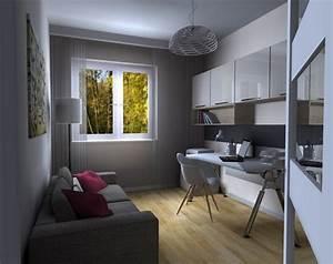 Weißer Hochglanz Schreibtisch : arbeiten von zuhause ideen zur arbeitszimmer einrichtung ~ Frokenaadalensverden.com Haus und Dekorationen