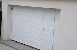 installer une porte de garage manuelle ou electrique a With porte de garage enroulable jumelé avec changement de serrure paris