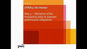 Pwc U0026 39 S Ifrs 15 The Basics U2013step 4 U2013allocation Of Transaction