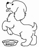 Coloring Pages Puppy Easy Printable Cozy Cool Print Getcolorings sketch template