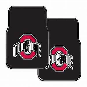 ohio state university rubber car floor mats set of 2 With ohio state floor mats