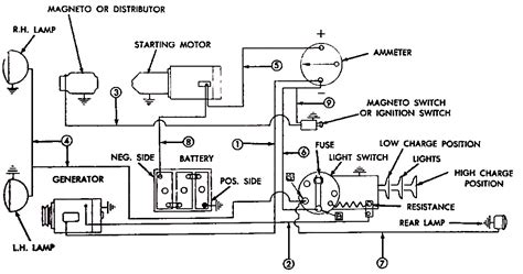yesterdays tractors converting   volt  wire alternator