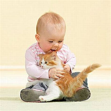 Babies And Cats Being Too Cute (25 Pics) Izismilecom