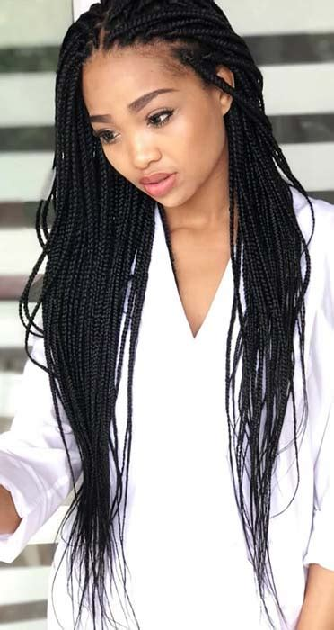23 best long box braids hairstyles and ideas stayglam