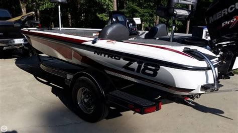 2016 Nitro Bass Boats For Sale by 2016 Used Nitro Z18 Bass Boat For Sale 33 900