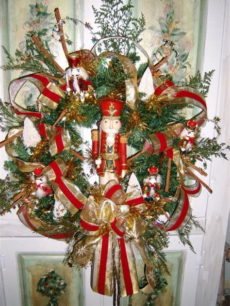 decorative nutcrackers for christmas nutcrackers wreaths and wreath ideas on