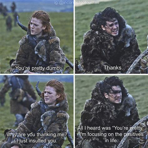 hilariously misquoted moments  game  thrones